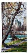 By Niagara River Beach Towel