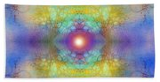 By The Tarnished Light Of The Moon Beach Towel