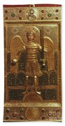 Byzantine Art: St. Michael Beach Towel