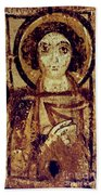 Byzantine Icon Beach Towel