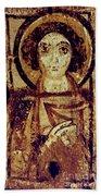Byzantine Icon Beach Towel
