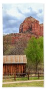 Cabin At Cathedral Rock Beach Towel