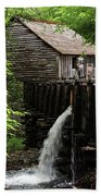 Cable Grist Mill Beach Towel by Andrea Silies