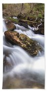 Cabot Head Waterfall Beach Towel