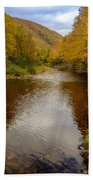 Cabot Trail Autumn 2015 Beach Towel