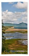 Cabot Trail In Nova Scotia Beach Towel
