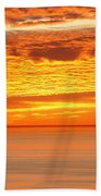 Cabrillo Sunset Beach Towel