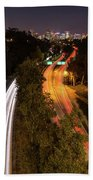 Cabrillo To Downtown Beach Towel