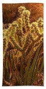 Cacti Family Reunion Beach Towel