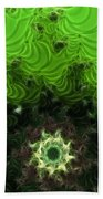 Cactus Abstract Beach Towel