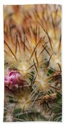 Cactus Bud Beach Towel
