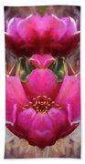 Cactus Flower 07-02 S08 Beach Towel