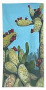 Cactus On Vicky Beach Sheet