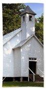 Cades Cove Baptist Church Beach Towel
