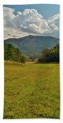 Cades Cove Pasture Beach Towel