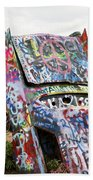 Cadillac Ranch Beach Towel