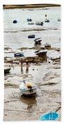Cadiz Spain Low Tide Beach Towel