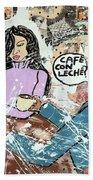 Cafe Con Leche Beach Sheet