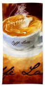 Caffe Latte Beach Towel