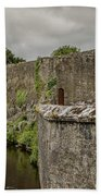 Cahir Castle 1384 Beach Towel