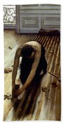 Caillebotte: Planers, 1875 Beach Towel