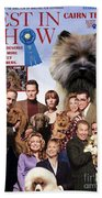 Cairn Terrier Art Canvas Print - Best In Show Movie Poster Beach Towel
