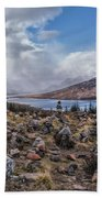 Cairns Of Loch Loyne Beach Towel