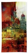Cairo Egypt Art 01 Beach Towel