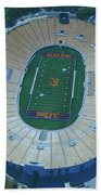 Cal Memorial Stadium Beach Towel