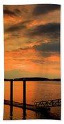 Calibogue Dock Beach Towel