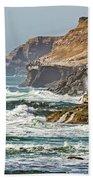 California Coasr Beach Towel