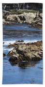 California Coast Beach Towel