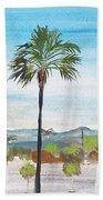 California Painting Beach Towel