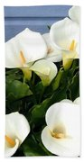 Calla Lilies- Oregon Beach Towel
