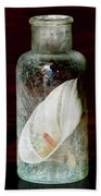 Calla Lily In A Bottle Beach Towel