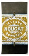 Callard And Bowser's Nougat Beach Towel