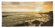 Calm After The Storm Beach Towel