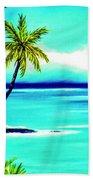 Calm Bay #53 Beach Towel