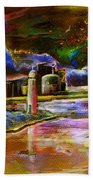 Calpe 02 Spain Beach Towel