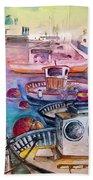 Calpe Harbour 03 Beach Sheet