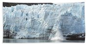 Calving Glacier Beach Towel