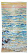 Cambria Rocks Beach Towel