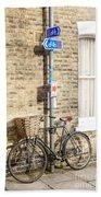 Cambridge Bikes 5 Beach Towel