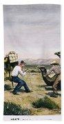 Camel Express, 1857 Beach Towel