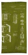 Camera Patent Drawing 2g Beach Towel