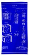 Camera Patent Drawing 2h Beach Towel