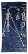 Camera Tripod Patent Beach Towel