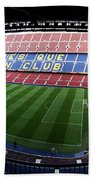 Camp Nou Beach Towel