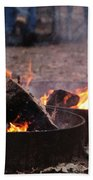 Campfire Beach Towel