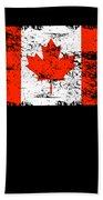 Canada Flag Gift Country Patriotic Travel Shirt Americas Light Beach Towel